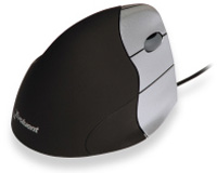Evoluent VerticalMouse 3 Rev 2 - Right Silver Black