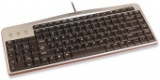 Evoluent Mouse-Friendly Keyboard - Silver Black